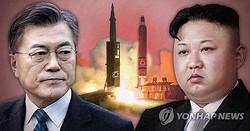 韓国の文在寅大統領(左)と北朝鮮の金正恩朝鮮労働党委員長(イメージ)=(聯合ニュース)