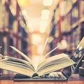 図書館の本とコンピューター技術