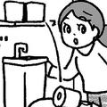 トイレで絶対やってはいけないことは? トイレにまつわる「基本」を解説(イラスト/藤井昌子)