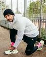 子供達からファッションセンスをからかわれたデヴィッド・ベッカム(画像は『David Beckham 2021年1月29日付Instagram「Always love a pair of Miami pink socks」』のスクリーンショット)