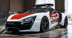 ライカン ハイパースポーツが発売されたのは2013年。その後、映画『ワイルドスピード7』に登場し世界中で話題を呼んだ(劇中車はレプリカ)。アブダビ警察には15年半ばからテスト導入されていたが、今回、晴れて正式導入となった