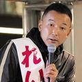 JR大阪駅前で街頭演説を行ったれいわ新選組の山本太郎代表