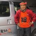 しっかりとした口調で語る尾畠さんは、震災直後に訪れた南三陸町の話になると言葉を詰まらせた