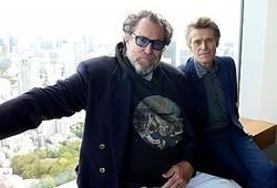 来日したジュリアン・シュナーベル監督とウィレム・デフォー
