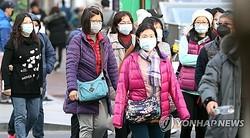 マスクをつけて観光する外国人客(資料写真)=(聯合ニュース)