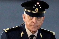 メキシコのシエンフエゴス前国防相=ロイター。麻薬密売などの罪で米国で逮捕、起訴された
