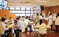 """タニタ本社にある、これが""""本家""""のタニタ食堂。個人事業主となったあとも、続けて食堂が利用できるのがメリットだ。"""