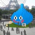 約8メートルの巨大スライムが横浜・みなとみらいに出現