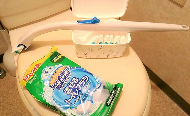 掃除 ブラシ トイレ