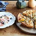 【ふたりで作るおしゃべりごはん】かぼちゃパイ&サーモンマリネでおうちハロウィン