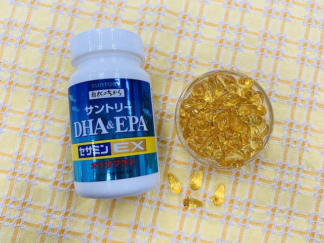 生活習慣が気になる方に!サントリーの「DHA&EPA+セサミンEX」