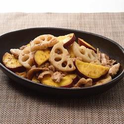 キユーピーの「中の人」が教えてくれる簡単・絶品和ごはんレシピ:ごまドレで味が決まる!秋の炒め物