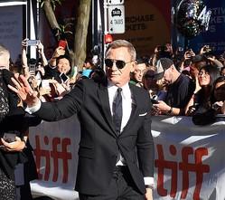 トロント国際映画祭で『Knives Out(原題)』プレミアに登場したダニエル・クレイグ/Courtesy of Getty Images