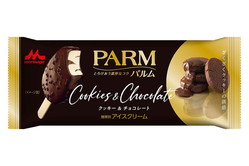 「パルム クッキー&チョコレート」限定発売、濃厚生チョコソース入りアイスをチョココーティング