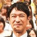 ドラマ『半沢直樹』の会見での堺雅人と香川照之('13年)