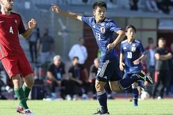 自身の武器を生かして2ゴールを奪った上田。今大会でさらなる活躍を見せることができるか。写真:佐藤博之