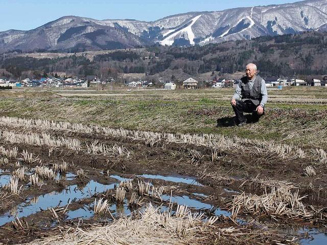 [画像] 暖冬 災害級 雪解け水足りない 代かき、田植え 米農家「不安」