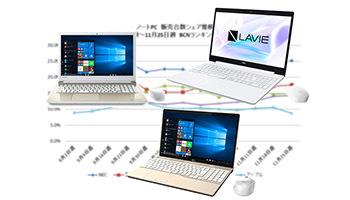 [画像] バブルに沸くPC市場、増税反動から即回復 Windows 7サポート終了直前で