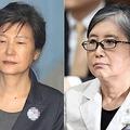 朴槿恵被告(左)と崔順実被告(資料写真)=(聯合ニュース)