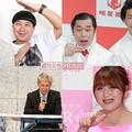 話題にはなったけれど…(左上から時計回りに)チョコレートプラネット、霜降り明星、りんごちゃん、闇営業で謝罪した宮迫博之と田村亮