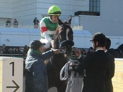 土曜中山5R新馬はフォアシュピールが1番人気にこたえる