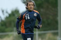 昨季はリーグ戦2試合、カップ戦4試合、天皇杯1試合に出場した中村北斗。写真:滝川敏之
