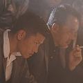 俳優デビューを果たした播戸竜二  - (C) 2021「孤狼の血 LEVEL2」製作委員会