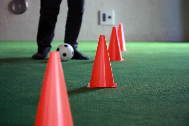 [画像] いつもなら全然見向きもしないのに…【3COINS】コーン&ボールセット サッカー好き息子が大ヒット!予想以上の大活躍!