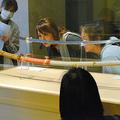 漆の覆いを取り除き、本来の刀の姿で公開された「村正」=2019年10月20日午前9時31分、三重県桑名市本町の桑名宗社、中根勉撮影