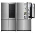 LGがノックすると透明になり中身が見れる冷蔵庫を発売 価格は88万台