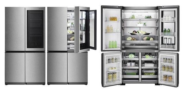 [画像] ノック2回で透けて中身を確認。LGが88万円台の冷蔵庫を発売