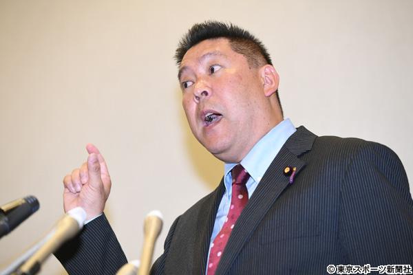 [画像] 参院埼玉補選出馬表明のN国・立花氏 代表職をホリエモンにオファー