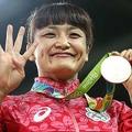 レスリング女子で五輪4連覇を成し遂げた伊調馨【写真:Getty Images】