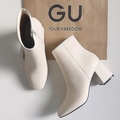 これがGUで買えちゃうって本当?新作ブーツは秋冬に履きたい「エクリュカラー」がダントツ人気なんです◎
