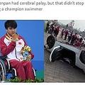 リオパラリンピック競泳の覇者、22歳中国人選手が事故死(画像は『Shanghaiist 2018年3月16日付「5-time Paralympic champion dies after driving into lamppost, flipping his car」』のスクリーンショット)