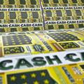 宝くじ券(2011年9月29日撮影、資料写真)。(c)Scientific Games (SG) / AFP
