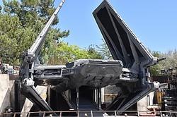 「スター・ウォーズ:ギャラクシーズ・エッジ」に設置された「タイ・エシュロン」  - (C)Disney / Lucasfilm Ltd. (C) & TM Lucasfilm Ltd.