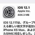iPhoneやiPadなど向け最新プラットフォーム「iOS12.1」を提供開始
