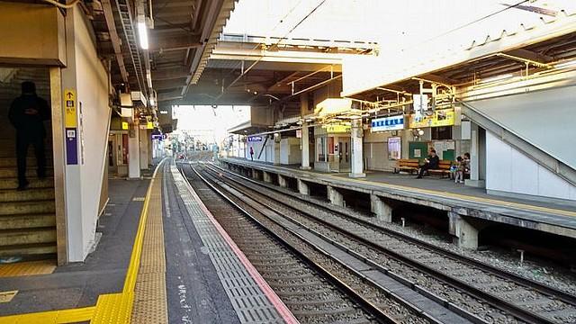 街撮り駅ホームjk品川