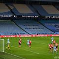 イングランド・プレミアリーグ、マンチェスター・シティ対サウサンプトン戦。マンチェスター・シティのホームスタジアムで(2021年3月10日撮影)。(c)Gareth Copley / POOL / AFP