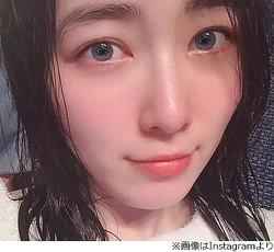 "SKE48松井珠理奈が濡れ髪""湯上がりショット"""