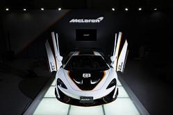 日本初披露 公道走行可能なマクラーレンのレーシングモデル 620R