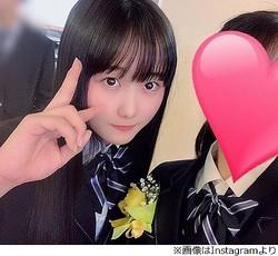 """本田望結が中学卒業、最後の""""JC制服姿""""も"""
