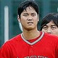 大谷翔平とマーティン・マルドナード【写真:Getty Images】
