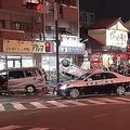 福岡市で車4台が衝突 8人がけが、うち2人が意識不明