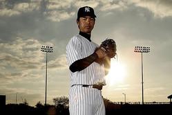 2006年オフにポスティングシステムを利用してヤンキースへと移籍した井川慶【写真:Getty Images】