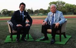野村克也×古田敦也、全てのスポーツファンを釘付けにする対談が実現!
