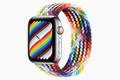 アップル、「極上の着け心地」のApple Watchプライドエディションバンド