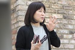 母の介護について語る岡江久美子