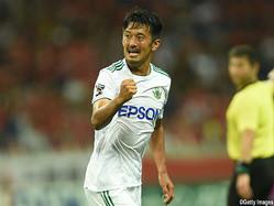 松本山雅FCのFW阪野豊史